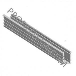 Профиль алюминиевый для светодиодной ленты врезной 31206